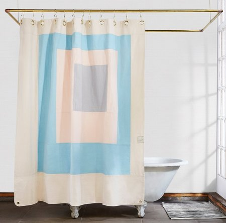Quiet Town Marfa Shower Curtain - Sky