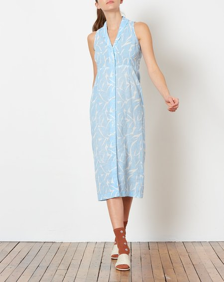 Ilana Kohn Meri Dress in Leaf Print