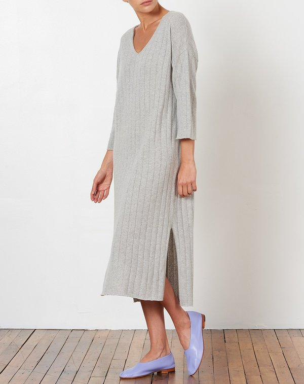 Demy Lee Vienna Dress - Light Heather Grey