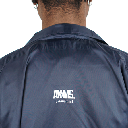 Annms Shop Annms Coach Jacket - Navy