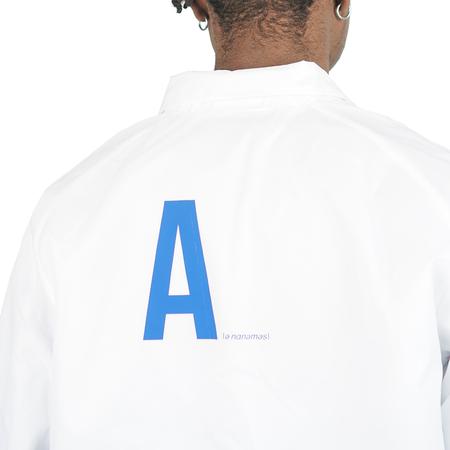 Annms Shop Annms Coach Jacket - White