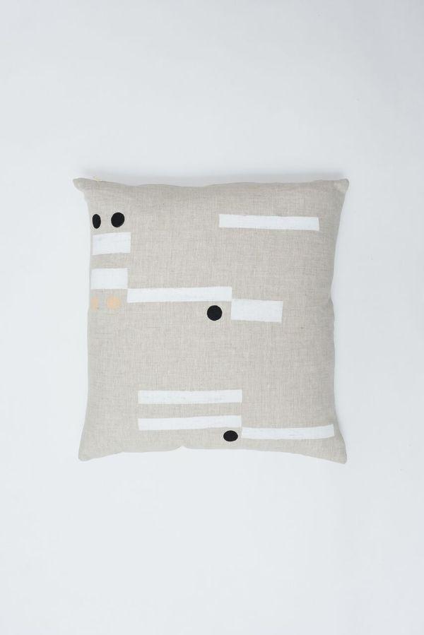 Caroline Z Hurley Procida Pillow - Natural