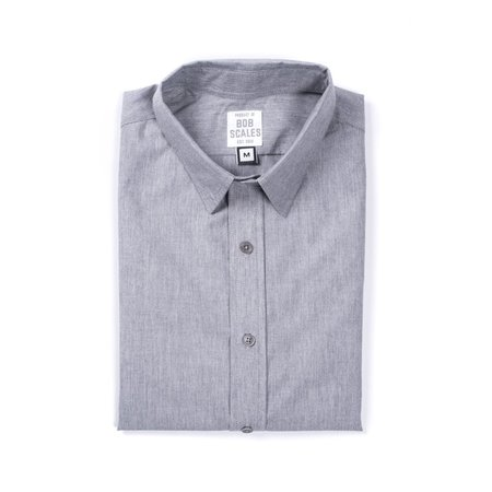 Product of Bob Scales Daily Driver Short Sleeve  - Heather Grey