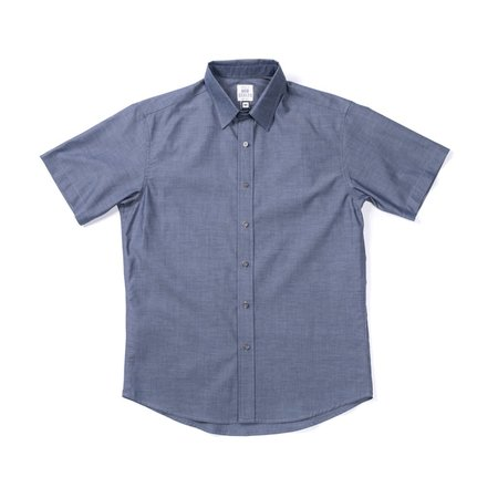 Product of Bob Scales Daily Driver Short Sleeve - Indigo