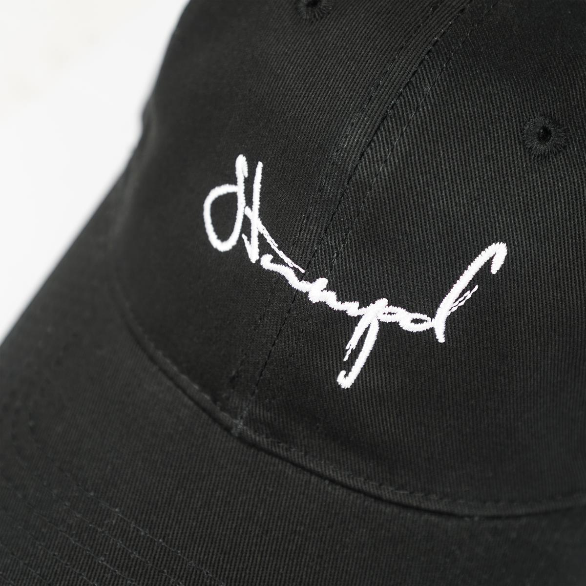 8d6ceebfec6 Stampd Script Dad Hat - Black