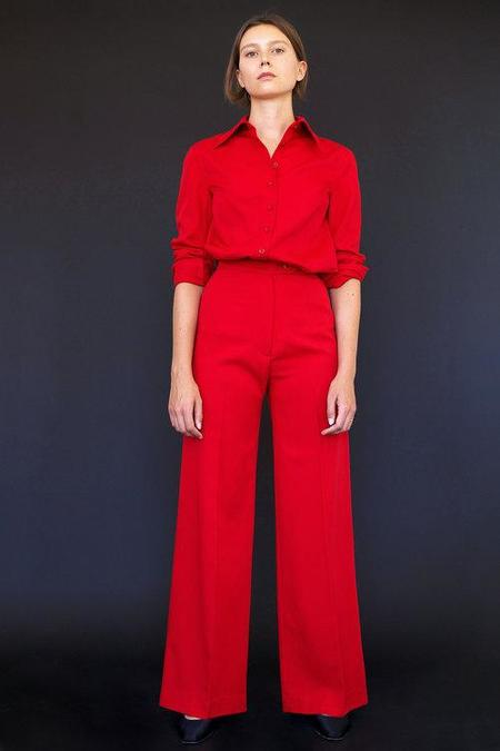 Town Odile Pant - Red