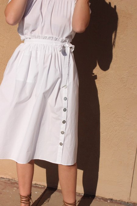 Wray Town Skirt - White