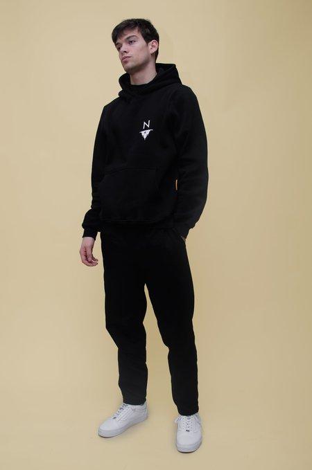 North Hill Tour Hoodie Sweatshirt - Black