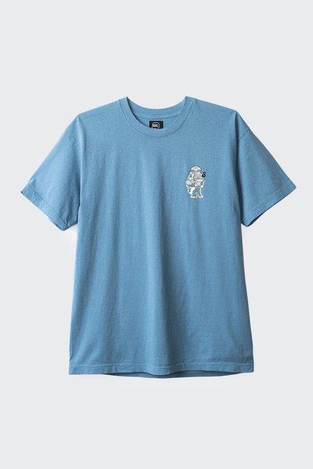Brain Dead Viral T-Shirt - Washed blue