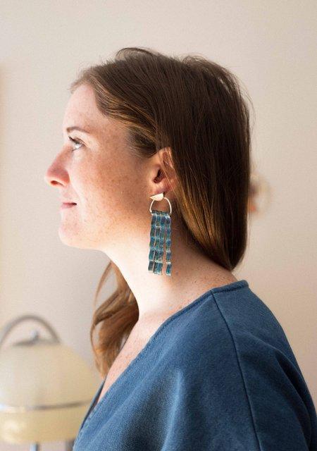 Sarah A. Sears Mermaid Stud Earrings