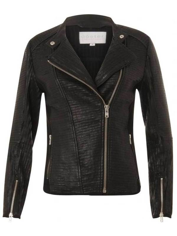Coster Copenhagen Leather Jacket - Black