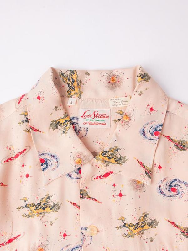 Levi's Vintage Clothing 1940's Hawaiian Shirt - Universe Beige