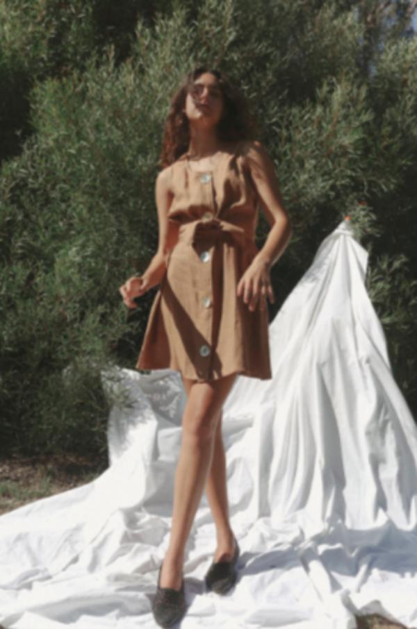 Stil. Vivian Dress - Mocha