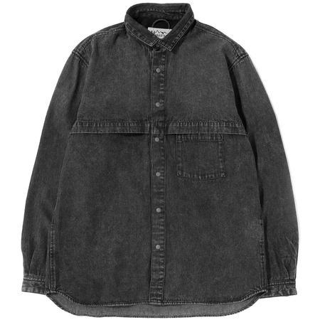Manastash O.D. Work Shirt - Black Denim