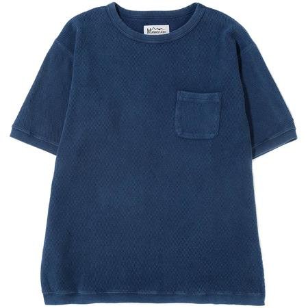 Manastash Snug Honeycomb Thermal T-Shirt - Navy