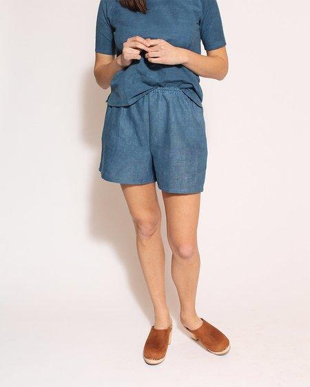 Po-Em Ladybug Shorts - Indigo