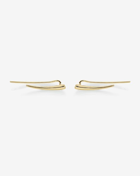 Gabriela Artigas Crawling Tusk Earrings
