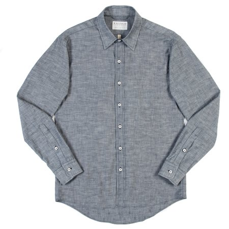 Raleigh Classic Button Up - Crosshatch