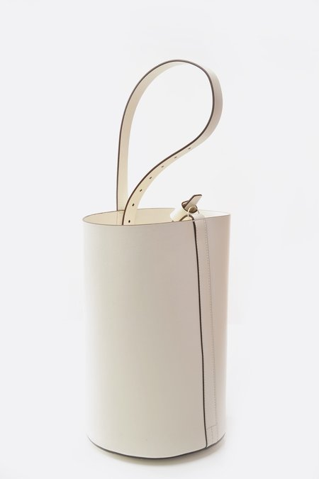 Trademark Bucket Bag - White
