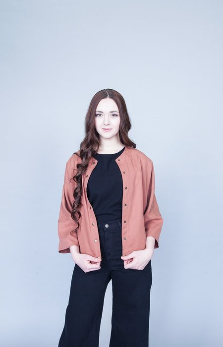 Eve Gravel Granite Jacket