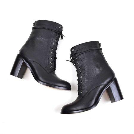 Ariana Bohling Vick Lace-up Boot Black