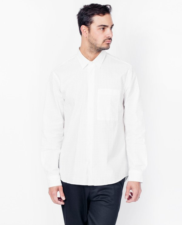 Coltesse Hydrus Pocket Shirt - Blanc