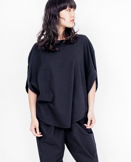 COSMIC WONDER Circular Top - Black