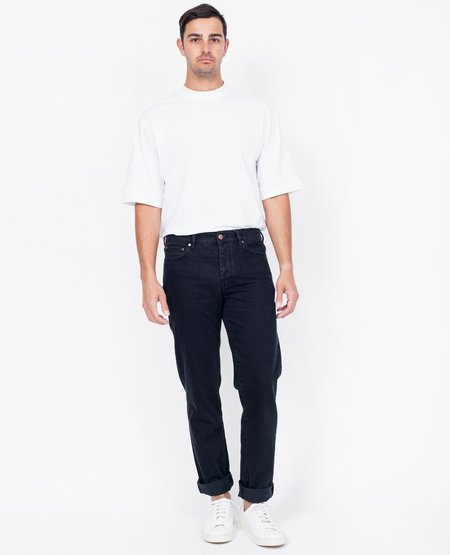 Han Kjobenhavn Tapered Jeans - Black Denim