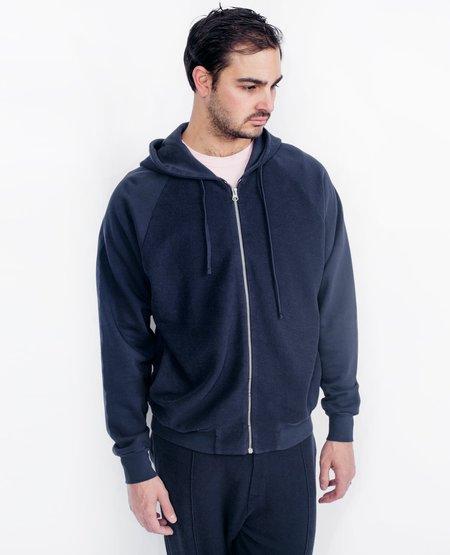 Les Basics Zip Hood - Navy