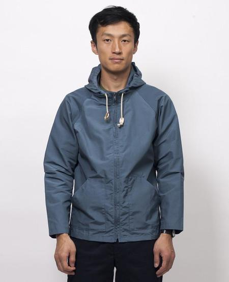 Mollusk Windbreaker - Light Indigo