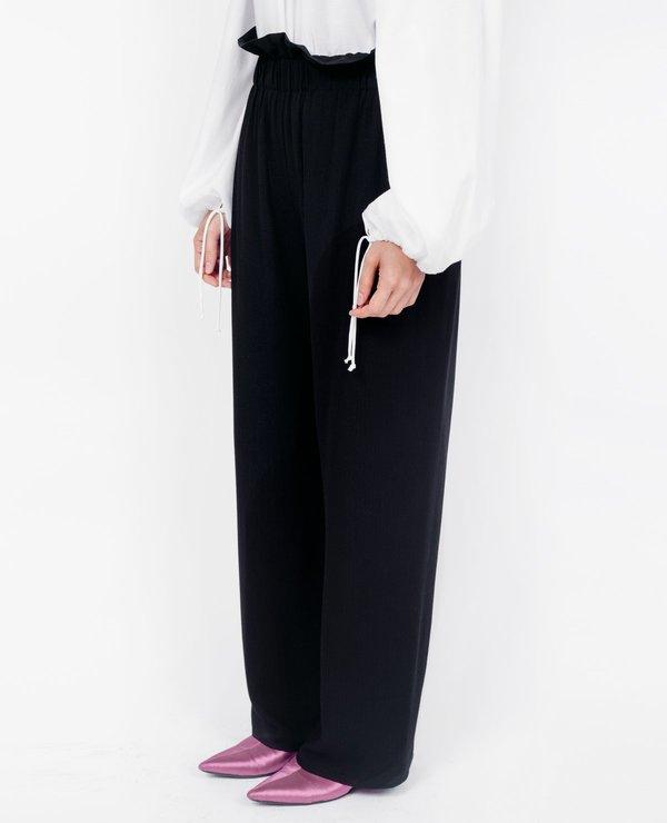 Shaina Mote Lemi Pant - Black Twill