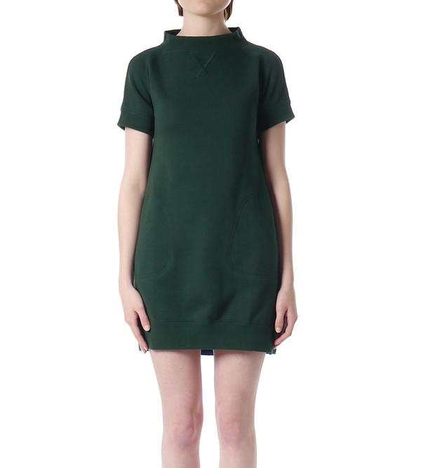 Sacai Luck Sweatshirt Dress