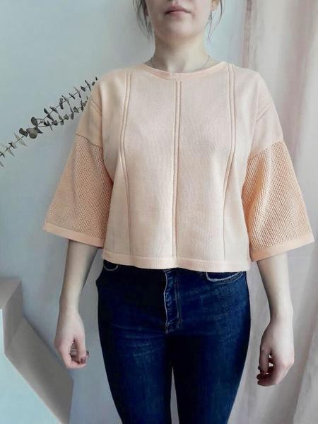 Eve Gravel Le Loup Top - Beige