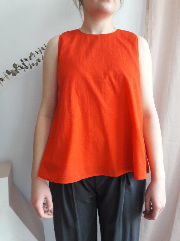 Valérie Dumaine Harmony Top - Orange