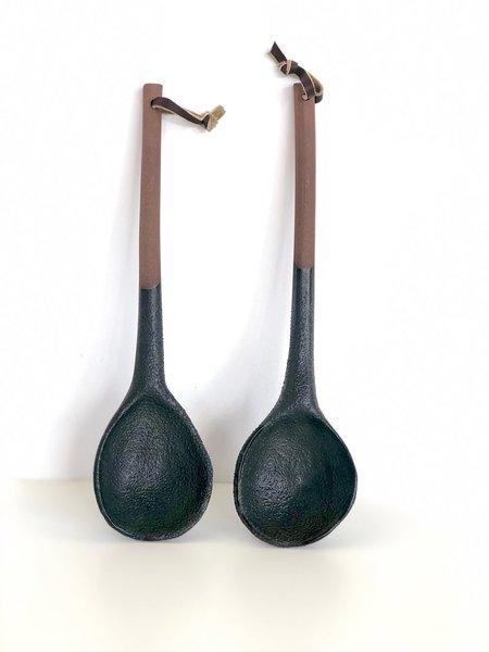 Kati Von Lehman Large Serving Spoons - Black