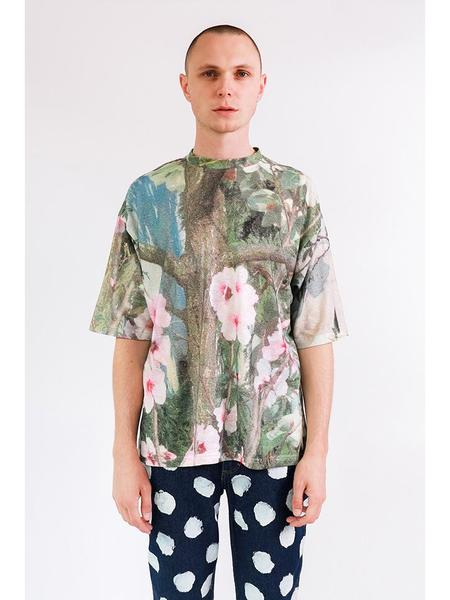 Unisex Anntian Big T-Shirt - Magnolia Print