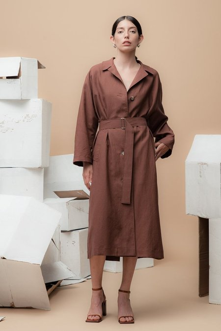 Waltz Oversized Trench Coat - Andorra