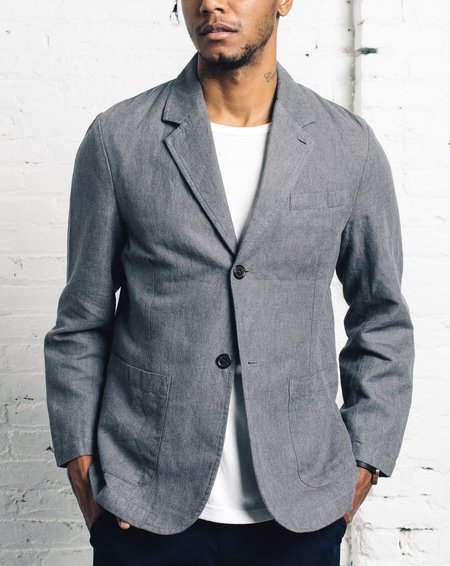 Universal Works Two Button Jacket - Grey