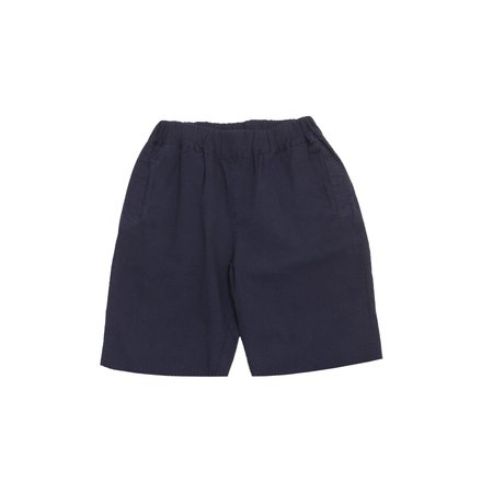 Unisex Olderbrother Seersucker Geri Shorts - Indigo