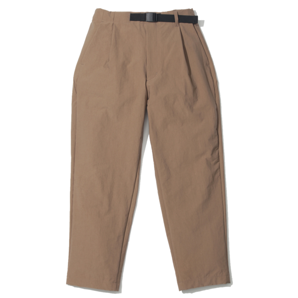 Unisex Goldwin 1 Tuck Easy Tapered Trousers -  Coyote