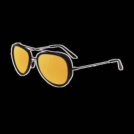 Unisex Vuarnet Edge Pilot Sunglasses - Matte Black