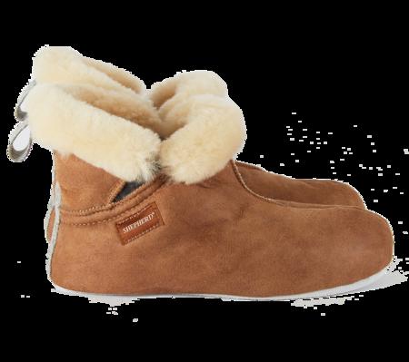 Woolrich x Westerlind Toni  Shoes for Men - Antique Cognac w/ Grey Wool