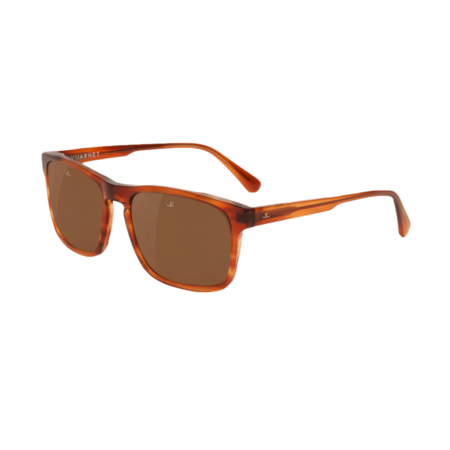 Vuarnet District Large Rectangle Sunglasses - Honey