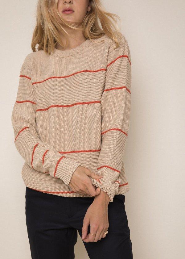 Unisex Abraham Benny Sweater - Khaki