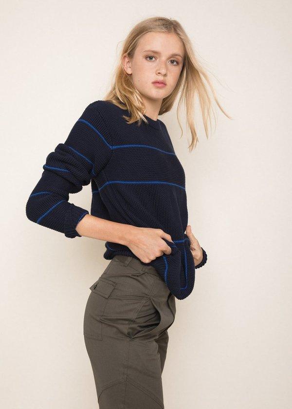 Unisex Abraham Benny Sweater - Navy