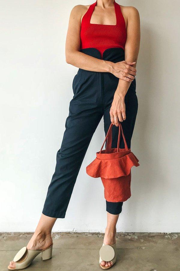 Lotfi Carmen Bucket Bag in Teja