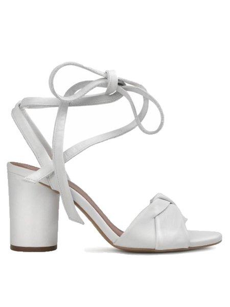 Hudson Figi Tie Strap Heel - White