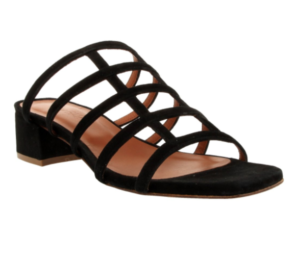 By Far Grid Sandal