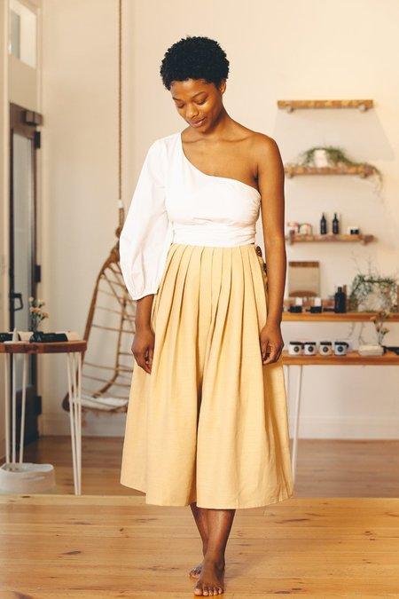 Stil. Jayne Skirt - White Peach