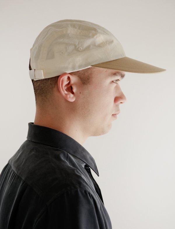 Paa Big Bill Cap - Ecru/Khaki